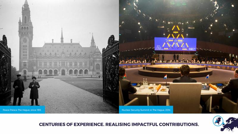 Den Haag internationale stad van Vrede en Recht