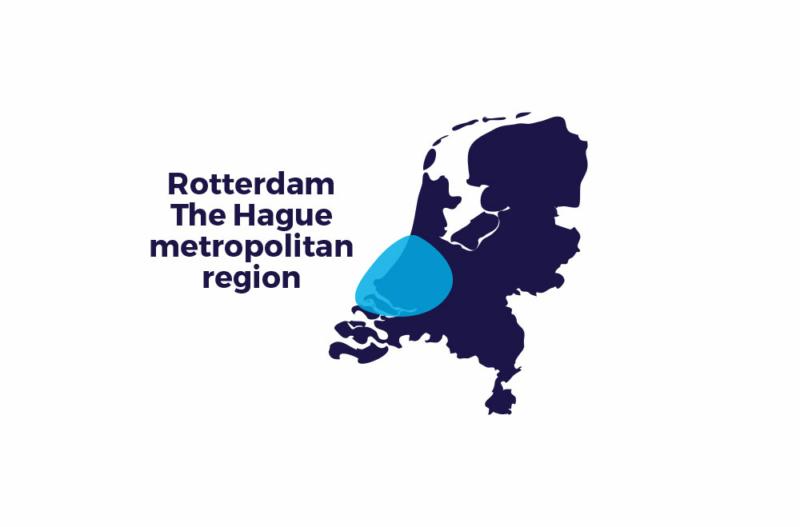 Kaart – Rotterdam The Hague metropolitan region